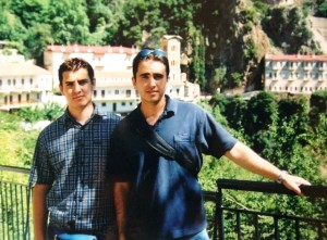 7 Ilias and Thanasi, circa 2000