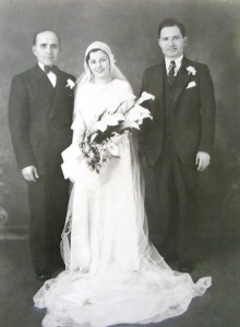 10 Constandinos and Christine wedding, 1933