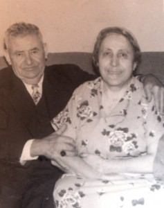 6 Papou Kanaki and Yiayia Maria, early 1950s