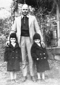 4 Harry and twin daughters Lois and Louise