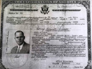 6 Harry's citizenship, 1931