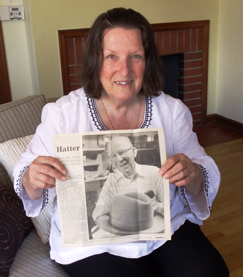 1 JoAnn and her father's article, 2013