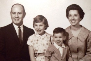11 Tom Cassis family (l-r) Tom, Denise, Tom Jr., Jackie, circa 1962