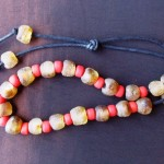 Glass beads from Astoria, OR made by donor