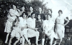 12 Greek women in McKenna, WA, circa 1930