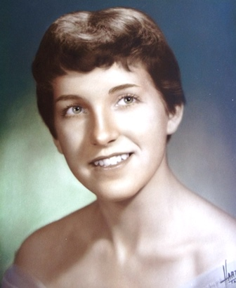 12 JoAnn, high school graduation, 1957