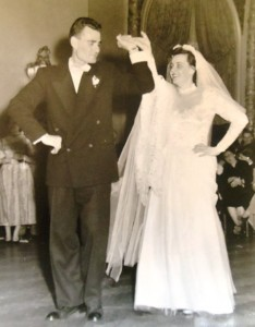 15 Evan and Diana Wedding, 1952