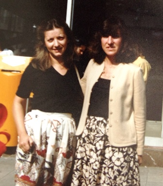 16 First cousin, Vasiliki Karpouzos and JoAnn, 1980