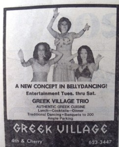 17 Greek Village belly dancers