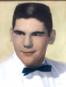 18 George, high school graduation, 1956