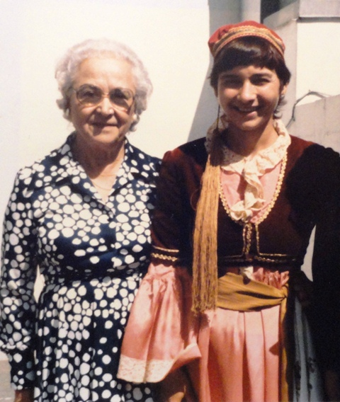18 YIAYIA IRENE AND ZOYE CIRCA1970