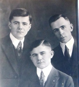 2 Louie, George and Paul Plumis, circa 1926
