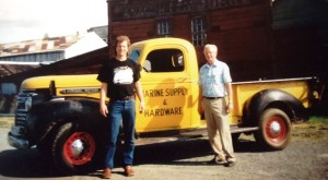 3 In front of Anacortes Junk Co, late 1980s