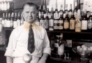33 GEORGE SENIOR AT MADISON TAVERN, circa 1950