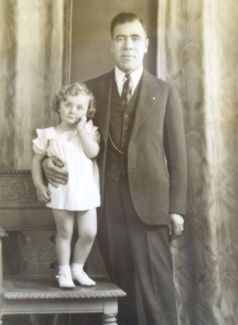 4 Diana and Nouno Tom Masouras, circa 1934