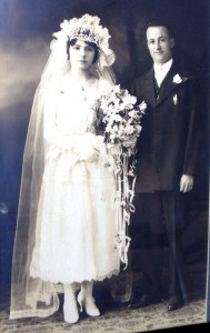 4 Eleni and Efthemios Demopoulos wedding, 1921