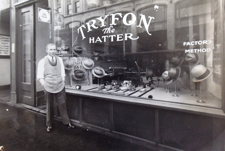 4 Tryfon , the Hatter, Commerce St, Tacoma