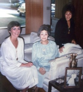 5 Colleen, mother  and Betty