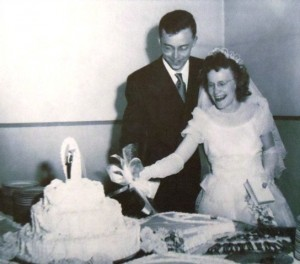 6 Eugene and Dorothy wedding 1949