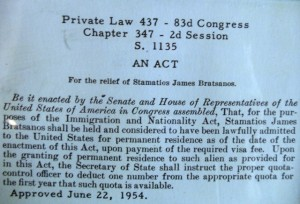 6 Steve's act of Congress, 1954