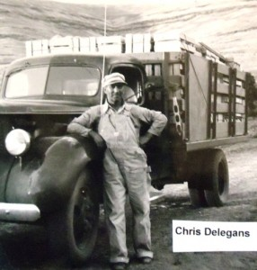 8 Chris Delegans' fruit truck, 1940