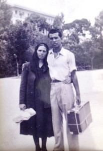 8 Fotini and her son Petro, 1952