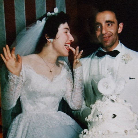 8 Katheren and Paul Wedding, 1954