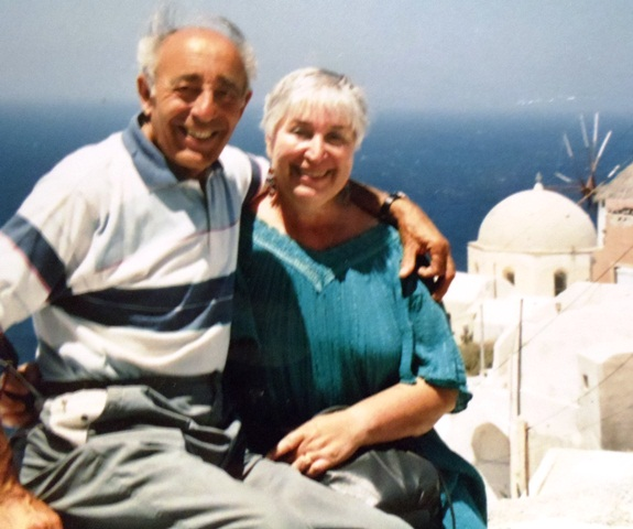 9 Paul and Katheren in Greece, circa 1990