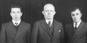 Steve, Demetrios and brother-in-law Aristithis Bartzis