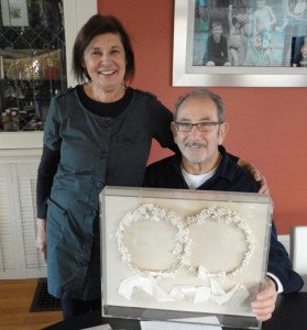 1 Jeanne and Bill with their stefana, 2013