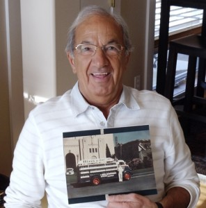 1 Steve James Sourapas with Hires Root Beer Truck photo, 2012