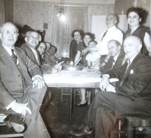 10 Dinner with bachelors, 1950s