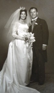 10 Maria and Ted Wedding, 1963
