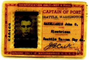 10 Seattle-Tacoma shipyard pass, 1943