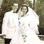 11 Andrew and Ida wedding, 1956