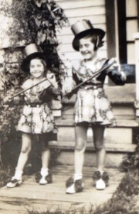 11 Eleni and Kordelia as majorettes, 1939
