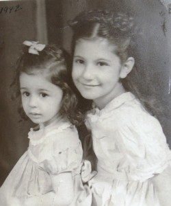 11 Margo and Jeanne Iskos, 1942