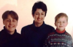 12 Nathan, Sandy and Stefan, circa 1988