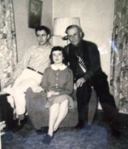 12 Pete, Dina and Nick Galanos, circa 1962