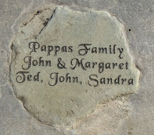 15 Pappas family stone, Soap Lake