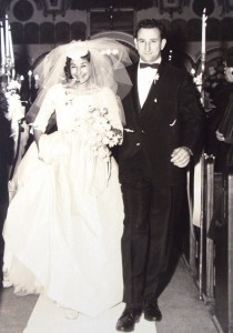 16 Bill and Jeanne wedding 2, 1961