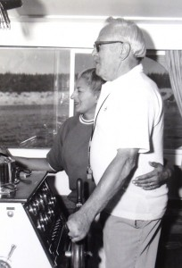 16 Joy and Russ on the boat, 1969
