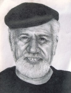18 Drawing of Panos from photo, 1989