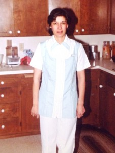 18 Jeanne at nursing school graduation, 1983