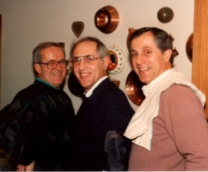 1a Andrew, George and Angelo, circa 1980