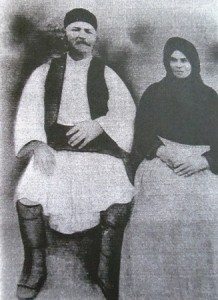 2 Great grandparents Papamanolopoulos, late 1800s