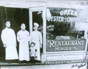 2 Green Oyster and Chophouse, Portland, Oregon, 1913