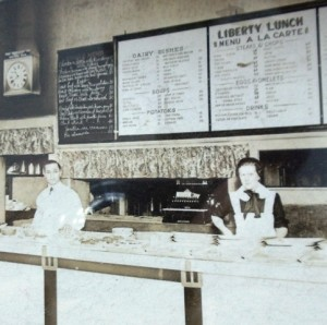 2 Gus at Liberty Lunch, Billings, Montana early 1920s