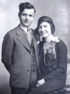 2 John and Margaret engagement, 1931