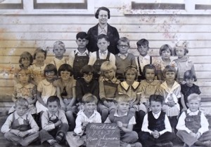 2 Machias elementary school, Panos back row, fourth from left, 1937